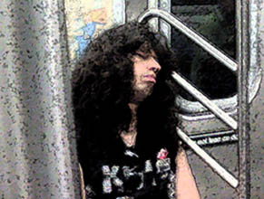 joey ramone on the train1