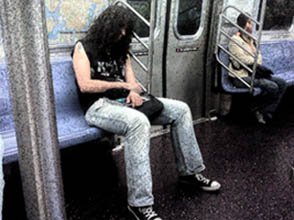 joey ramone on the train2