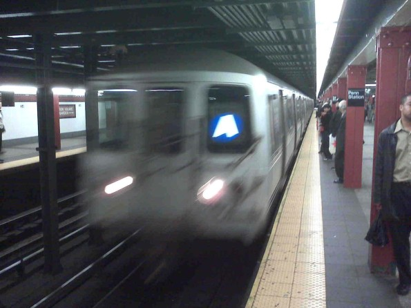 A Train Penn Station