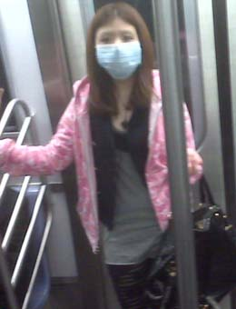 Swine Flu Girl